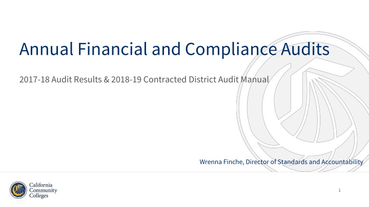 2017 18 audit results 2018 19 contracted district audit manual n.