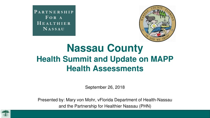 nassau county health summit and update on mapp health assessments n.