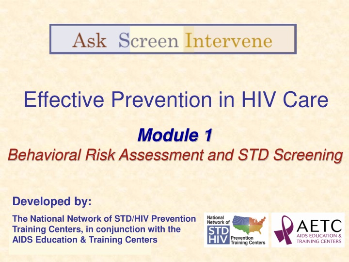 effective prevention in hiv care n.