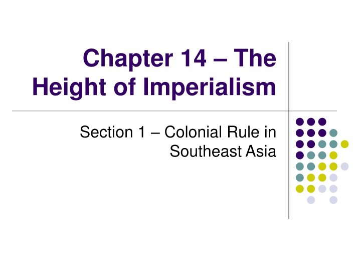 chapter 14 the height of imperialism n.