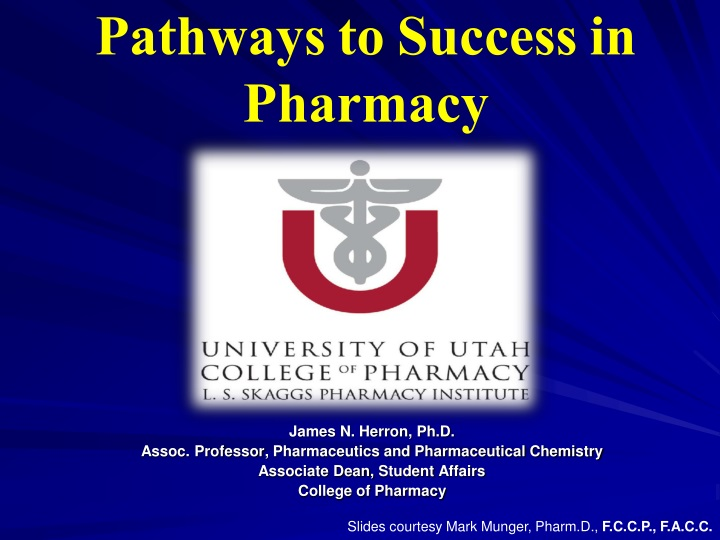 pathways to success in pharmacy n.