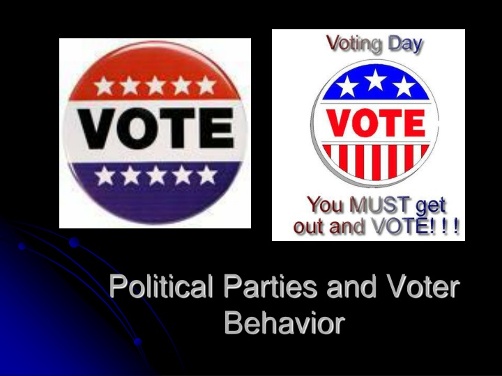 political parties and voter behavior n.