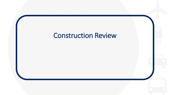construction review n.