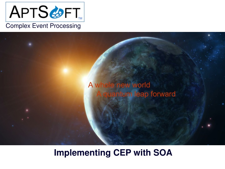 implementing cep with soa n.