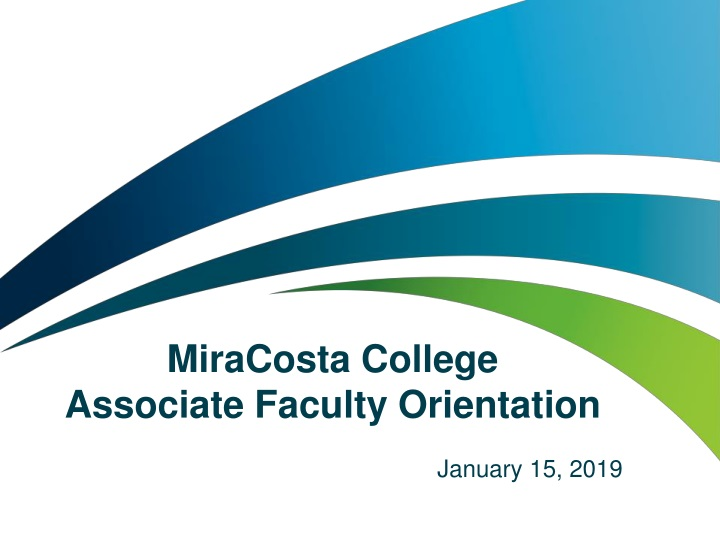 miracosta college associate faculty orientation n.