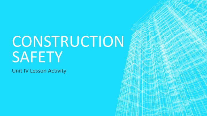 construction safety n.