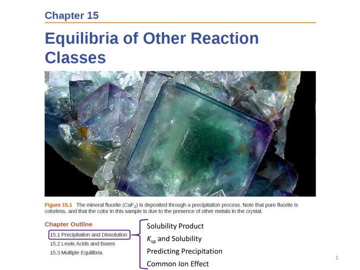 solubility product k sp and solubility predicting n.