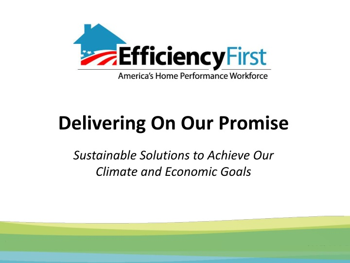 delivering on our promise sustainable solutions to achieve our climate and economic goals n.