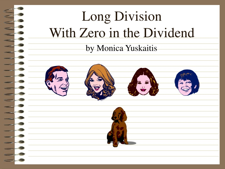 long division with zero in the dividend n.