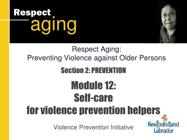 section 2 prevention module 12 self care for violence prevention helpers n.