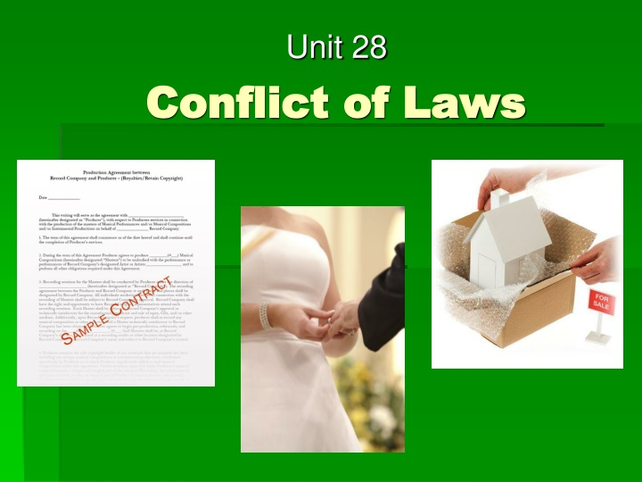 conflict of laws n.
