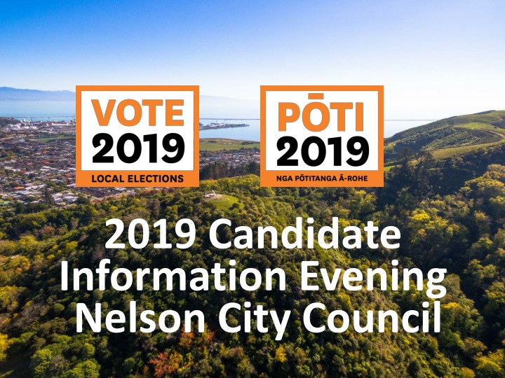 2019 candidate information evening nelson city n.