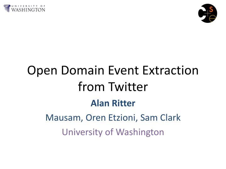 open domain event extraction from twitter n.