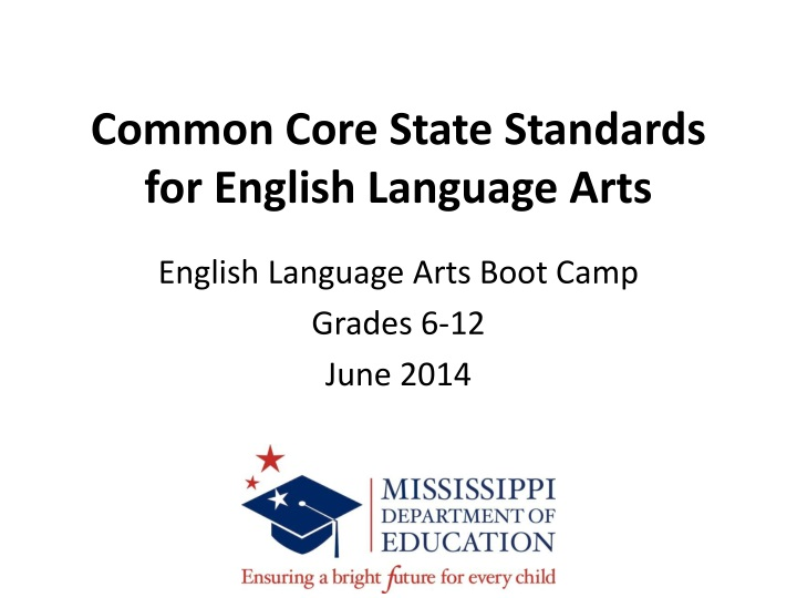 common core state standards for english language arts n.