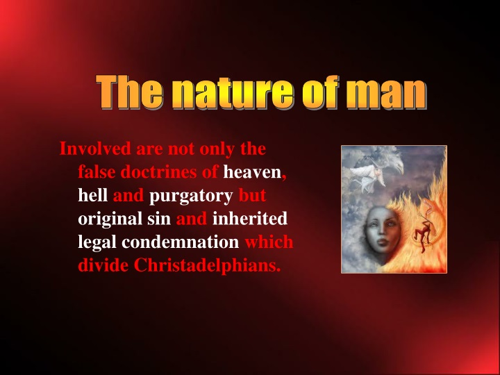 the nature of man n.