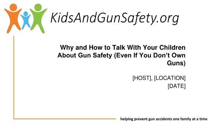 why and how to talk with your children about gun safety even if you don t own guns n.