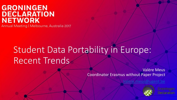 student data portability in europe recent trends n.