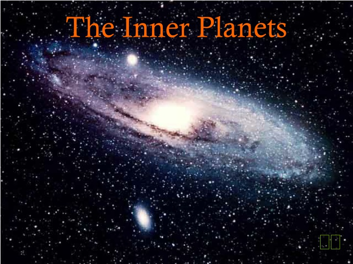 the inner planets n.