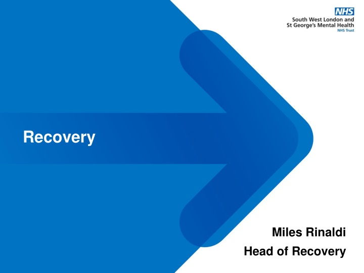 recovery n.