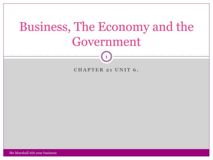 business the economy and the government n.