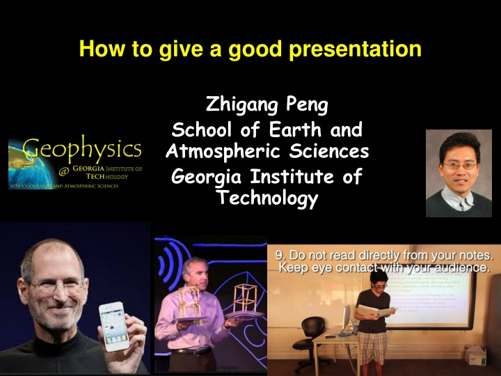 how to give a good presentation n.