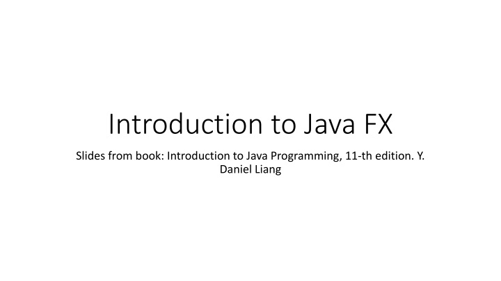 introduction to java fx n.