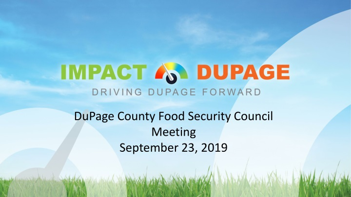 dupage county food security council meeting n.
