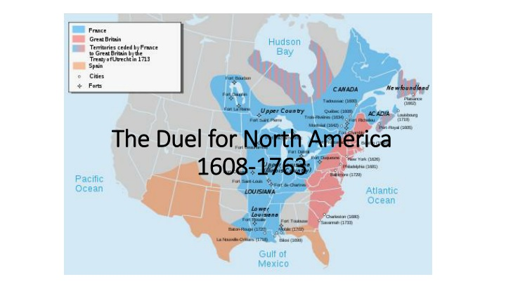 the duel for north america 1608 1763 n.