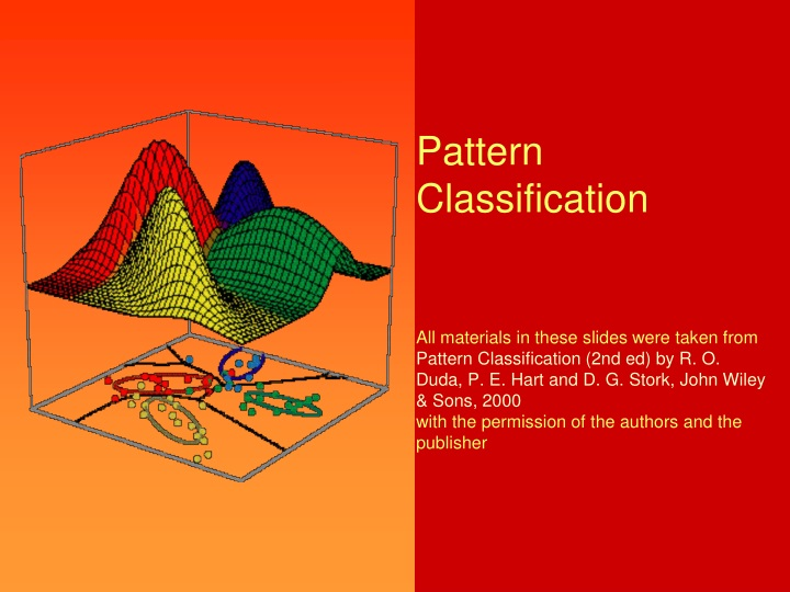 pattern classification all materials in these n.