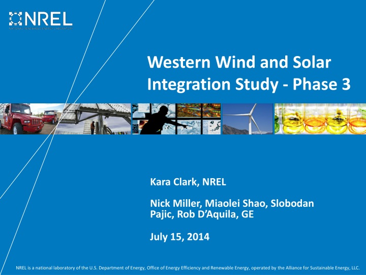 western wind and solar integration study phase 3 n.