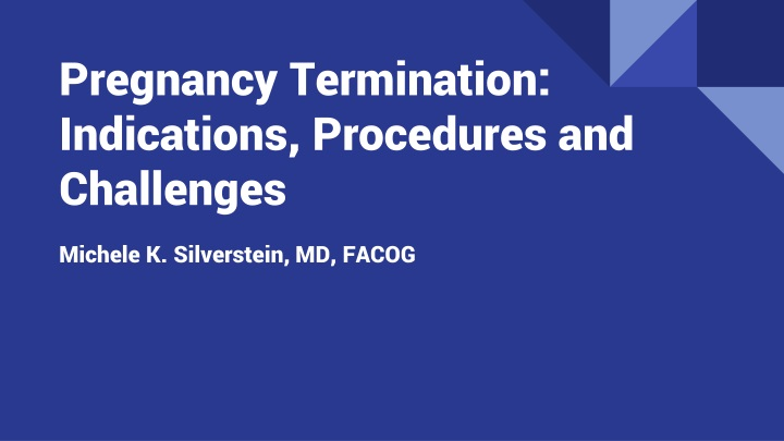 pregnancy termination indications procedures and challenges n.