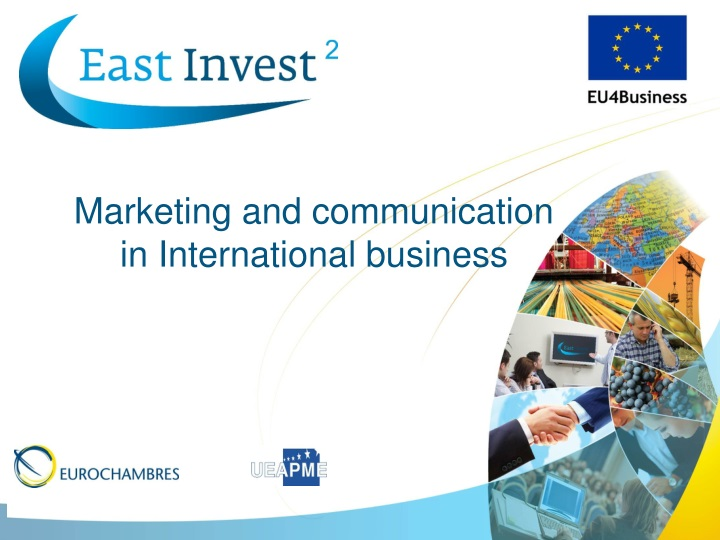 marketing and communication in international n.