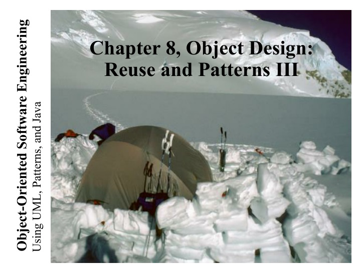 chapter 8 object design reuse and patterns iii n.