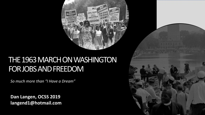 the 1963 march on washington for jobs and freedom n.
