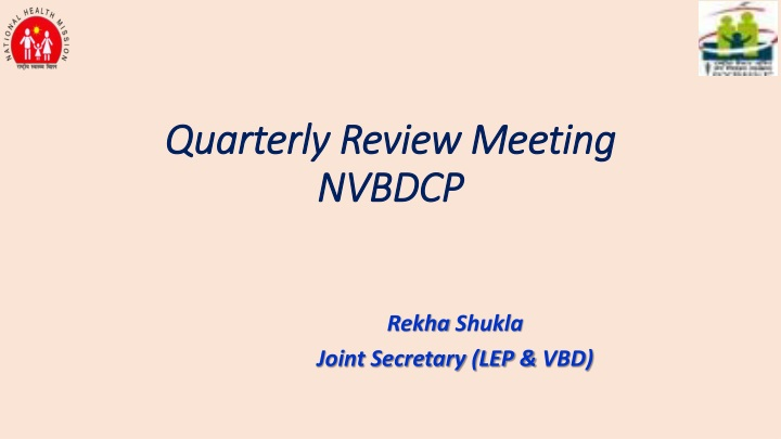 quarterly review meeting nvbdcp n.