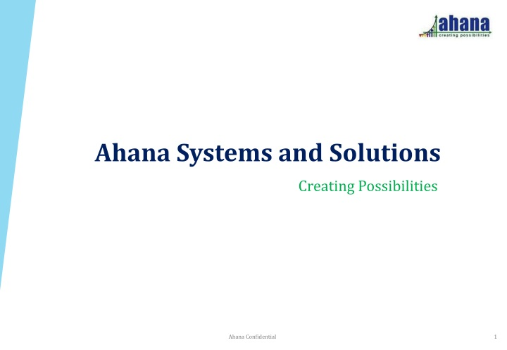 ahana systems and solutions n.