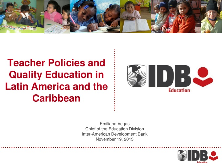 teacher policies and quality education in latin america and the caribbean n.