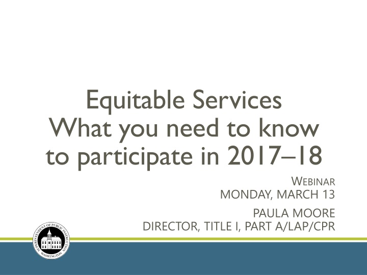 equitable services what you need to know to participate in 2017 18 n.