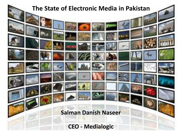 the state of electronic media in pakistan n.