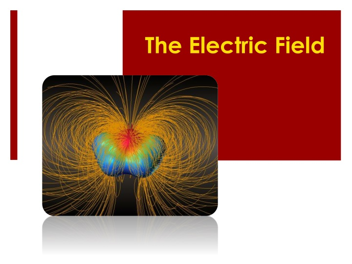 the electric field n.