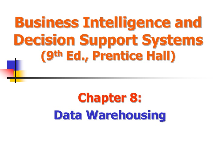 business intelligence and decision support systems 9 th ed prentice hall n.