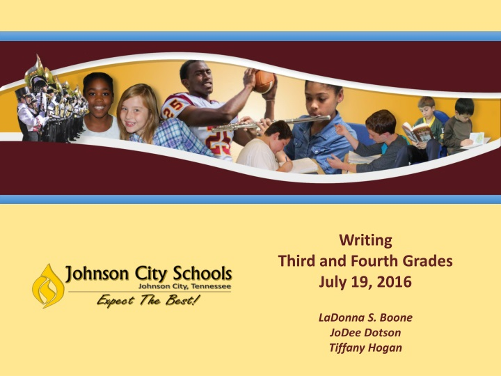 writing third and fourth grades july 19 2016 n.