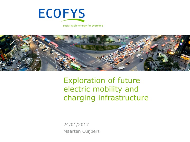 exploration of future electric mobility and charging infrastructure n.