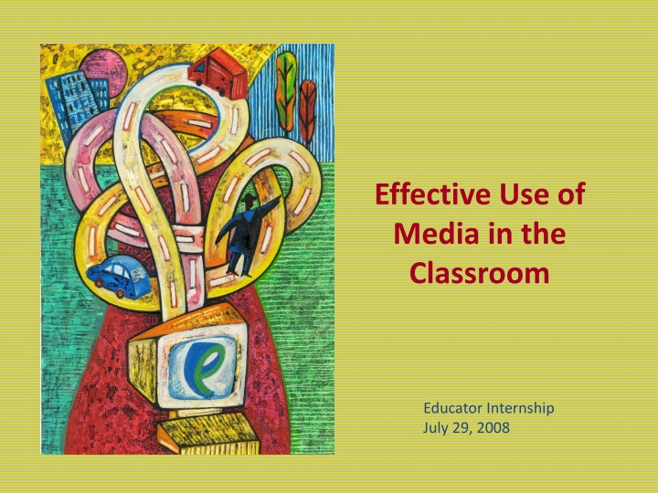 effective use of media in the classroom n.