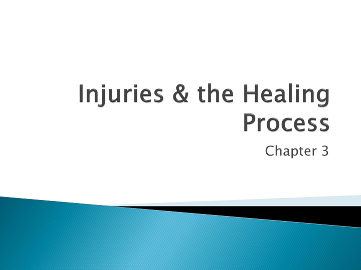 injuries the healing process n.