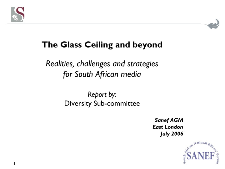 the glass ceiling and beyond realities challenges n.