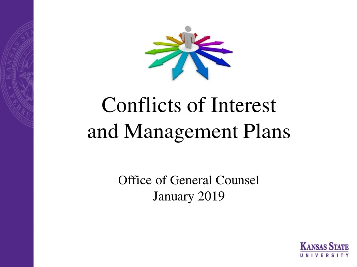 conflicts of interest and management plans n.