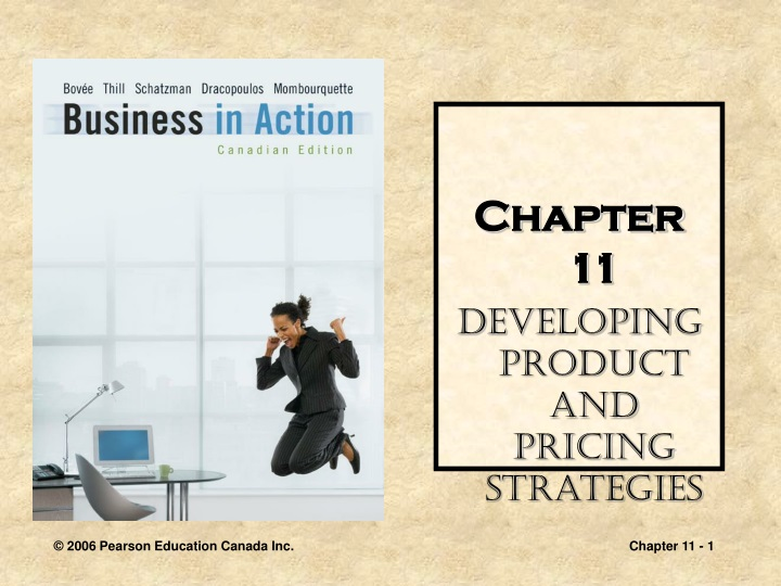 chapter 11 developing product and pricing n.