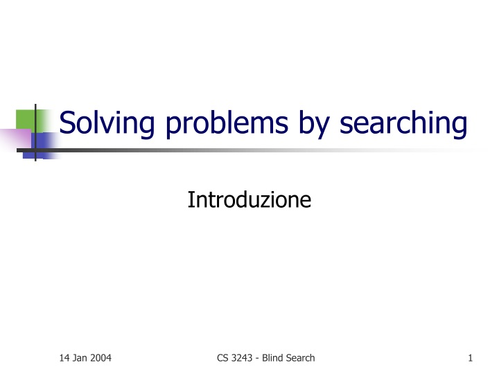 solving problems by searching n.