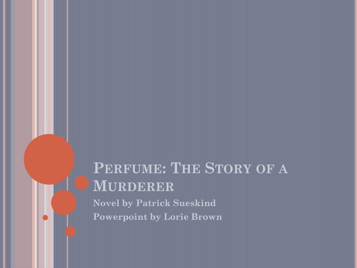 perfume the story of a murderer n.